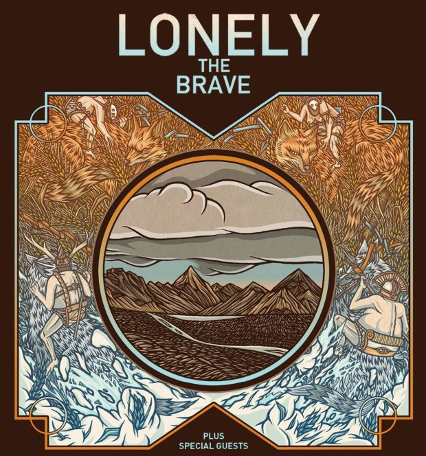 Lonely The Brave Tour