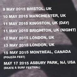 beach slang tour dates